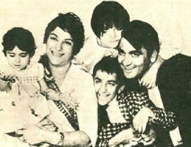 "The Dutt family. (Photo courtesy: <a href=""https://twitter.com/MosesSapir/status/310522445083852801"">Twitter/@<b>MosesSapir</b></a>)"