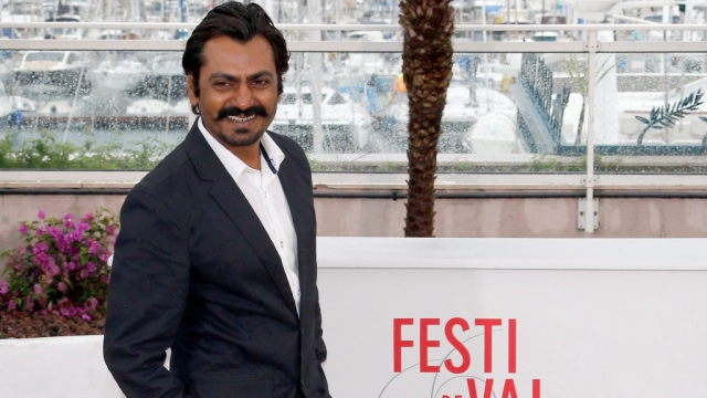 Nawazuddin Siddiqui at Cannes in 2016.