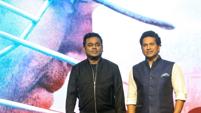 "AR Rahman is the Music Director of Sachin's biographical film, ""Sachin, a Billion Dreams"". (Photo: AP)"
