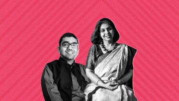 Nipun Malhotra (L) and Priyanka Malhotra (R). (Photo Courtesy: Nipun Malhotra/<b>The Quint</b>)