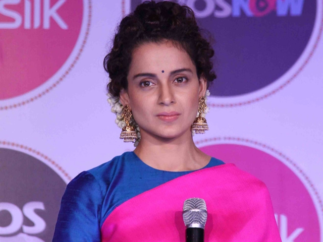 Kangana Ranaut defends her stand on <i>Simran</i>. (Photo: Yogen Shah)