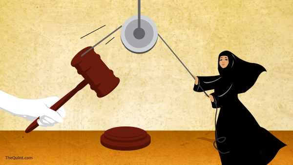 In a majority judgement, three of five Supreme Court judges struck down triple talaq. (Photo: <b>The Quint</b>/Lijumol Joseph)