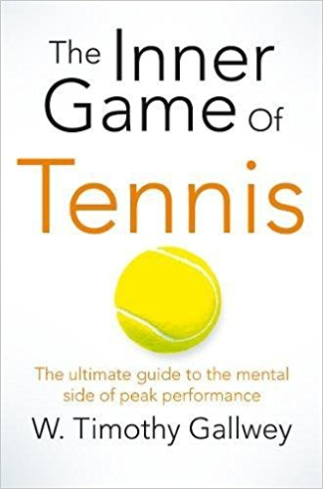 Book cover of <i>The Inner Game of Tennis.</i> (Photo Courtesy: Pinterest)