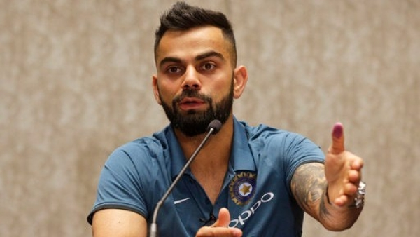 "India captain Virat Kohli says he wouldn't even be ""seen around the scene"" the day he is ""totally spent"" to pick up the bat again."