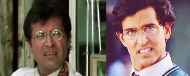 Ravi Baswani = Hrithik Roshan in <i>Koi Mil Gaya</i>. (Photo Courtesy: YouTube Screengrab/Altered by <b>The Quint</b>)