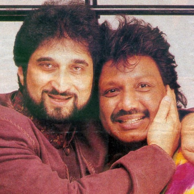 The duo, Nadeem-Shravan. (Photo: Twitter/ KingSanu1)