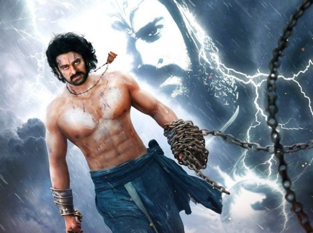A still from <i>Baahubali 2</i>.