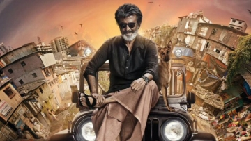 Rajinikanth in the first look of <i>Kaala</i>.(Photo courtesy: Twitter)