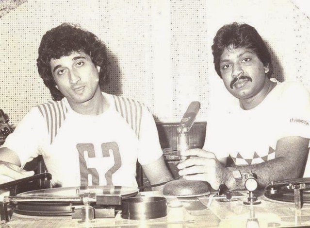 Nadeem-Shravan, the early days. (Photo: Twitter/ KingSanu1)