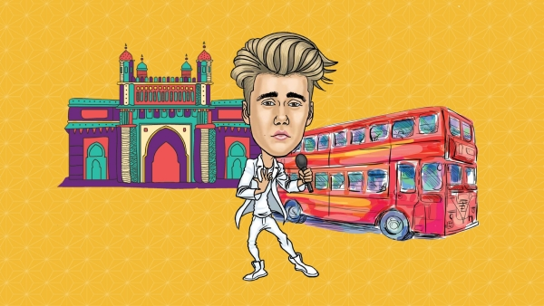 Justin Bieber's Incredible India itinerary.