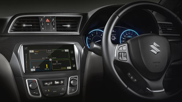 Enjoy a simplified  drive (Image credit: Ciaz)