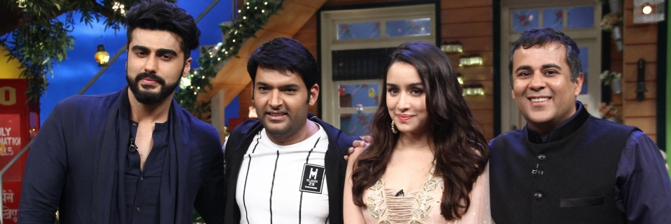 Arjun & Shraddha Show off Basketball Skills on Kapil Sharma's Show