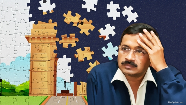 The MCD debacle shows Kejriwal must revive AAP's credibility, and he should do it because India needs a third political alternative. (Photo: Lijumol Joseph/ <b>The Quint</b>)