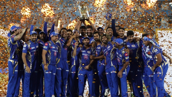 Mumbai Indians won the IPL last year.