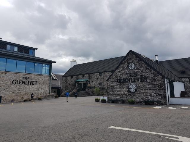 Glenlivet distillery.