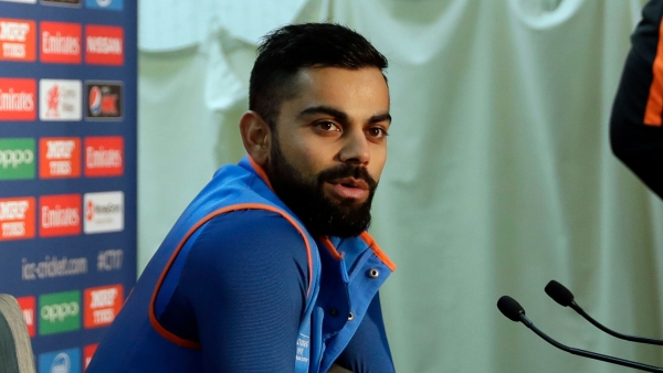Virat Kohli speaks to the press before team India depart for South Africa.