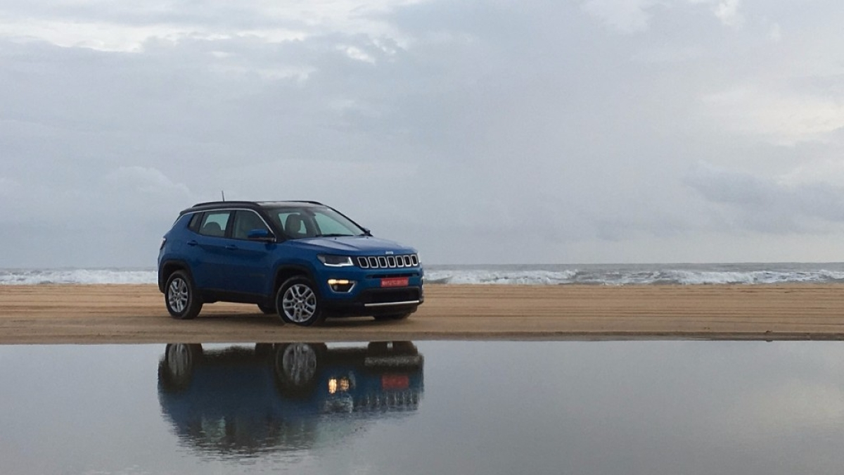 The Jeep Compass Limited comes with Selec-Terrain all-wheel drive.