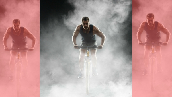 Only Salman Khan Can Ride a Cycle AND Pollute the Environment