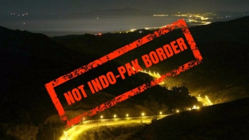 This photo is actually that of the Spain-Morocco border, and not the Indo-Pak border. (Photo Courtesy: Javier Moyano)