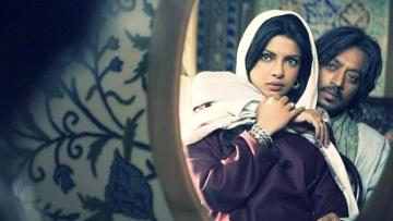 Priyanka Chopra and Irrfan Khan in a scene from <i>Saat Khoon Maaf. </i>