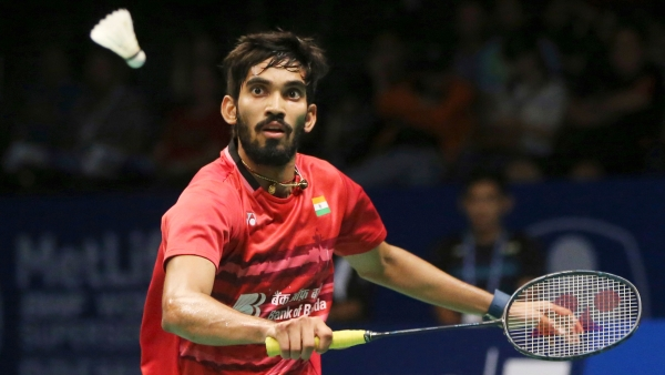 File photo of Kidambi Srikanth.