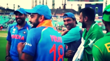 (Photo: Grab of video uploaded by International Cricket Council)