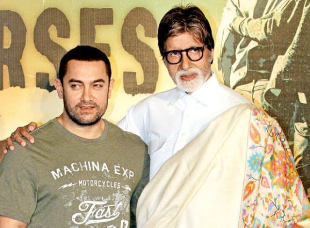 Aamir Khan and Amitabh Bachchan will feature in <i>Thugs of Hindostan</i>. (Photo: Yogen Shah)