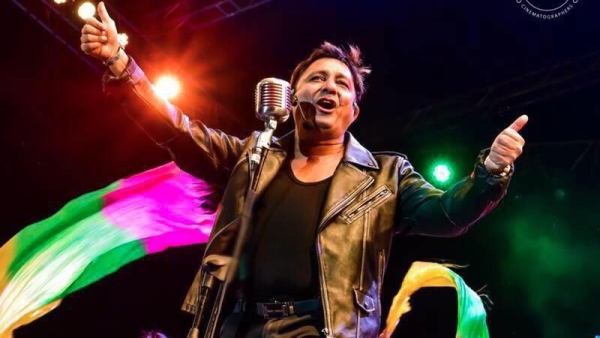 Sukhwinder Singh made our day with his popular hits!