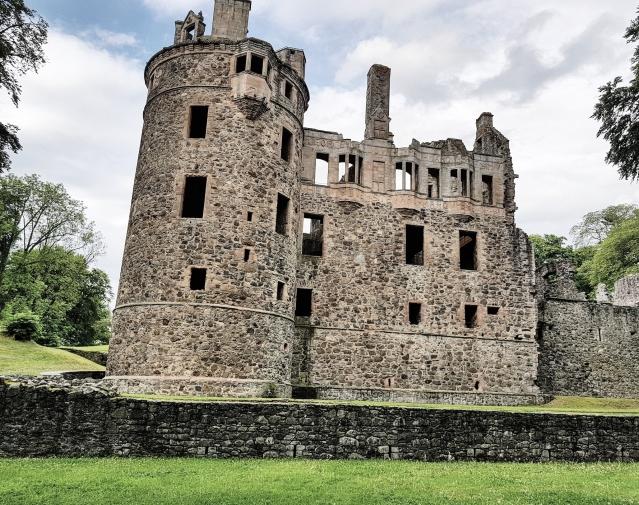 Huntly Castle.