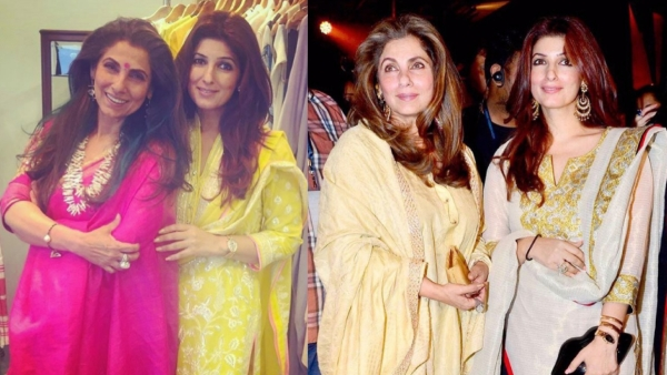 Dimple Kapadia with daughter Twinkle Khanna. (Photo courtesy: Instagram)