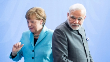 PM Minister Narendra Modi with German Chancellor Angela Merkel. (Photo: Reuters)