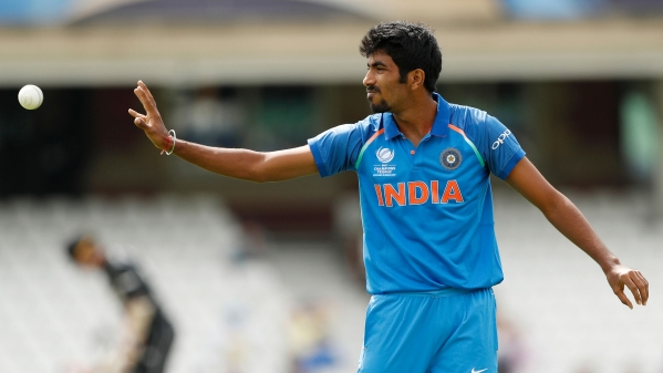 File photo of Jasprit Bumrah who has been ruled out of the T20 series against England starting Tuesday.