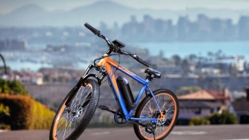 The electric bicycles come with pedal-assist technology.