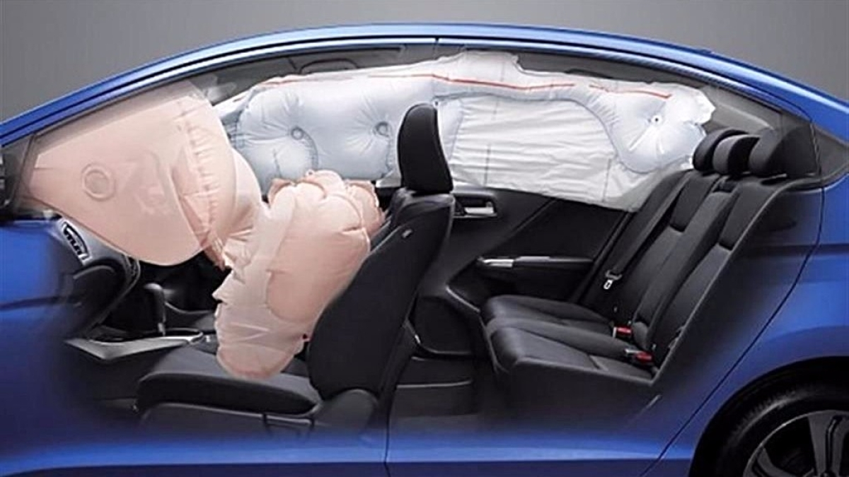 All cars will have to come with  a driver airbag as mandatory, with passenger airbags optional.