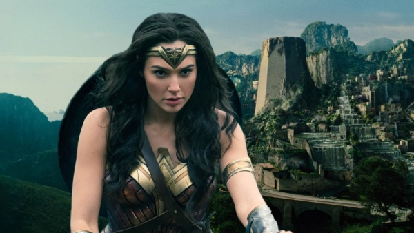 Gal Gadot in and as <i>Wonder Woman.</i>