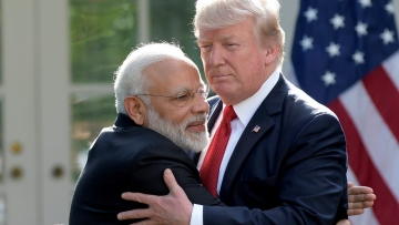 Trump said that PM Modi is working hard to bring the people of the country together.