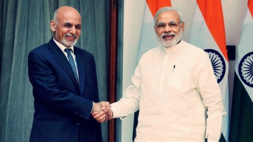 Afghan President Ashraf Ghani (L) and Indian Prime Minister Narendra Modi (R). (Photo: PTI)