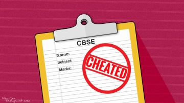 An analysis of CBSE 2017 results proves that the board continued with unfair marking methods this year. (Photo: Rhythum Seth/<b>The Quint</b>)
