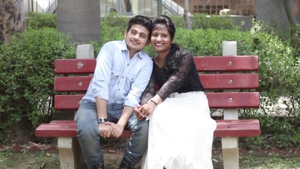 Rajveer and Shivangi. (Photo: AP screengrab)