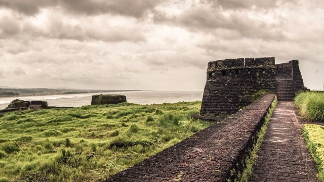 The very famous Bekal Fort.