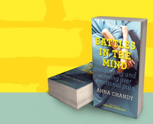 Anna Chandy, chairperson of Deepika Padukone's mental health initiative, pens a book transforming pain into joy.