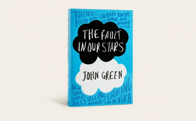 """The final cover of <i>The Fault In Our Stars</i> was more conceptual, addressing both the light and darkness of life,"" says Corral."