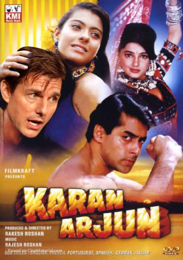 Imagine Tom Cruise singing <i>Sooraj Kab Door Gagan Se...</i>