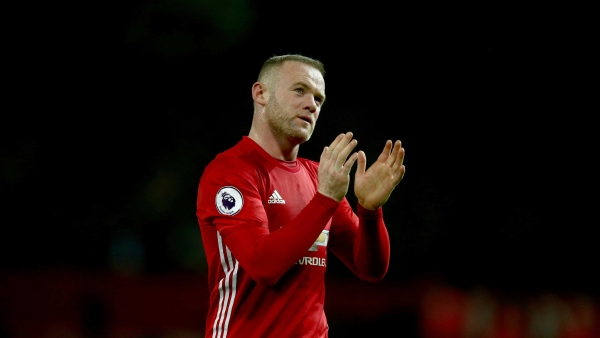 Manchester United's Wayne Rooney leaves the field after the English Premier League soccer match between Manchester United and Liverpool at Old Trafford stadium in Manchester, England, Sunday, Jan. 15, 2017.