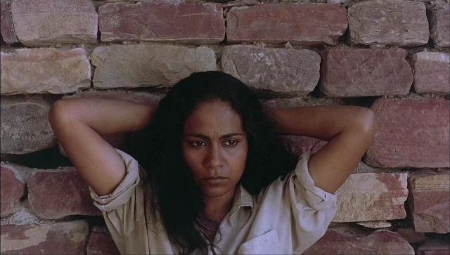 Seema Biswas as Phoolan Devi in <i>Bandit Queen</i>.