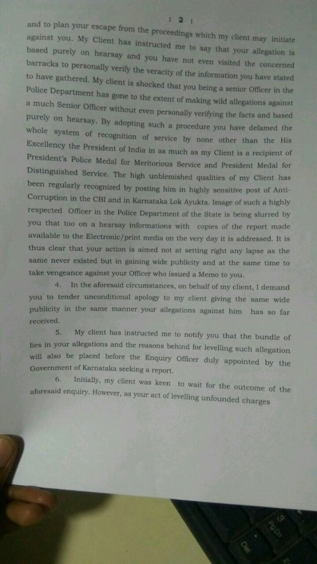 Defamation Notice Page 2