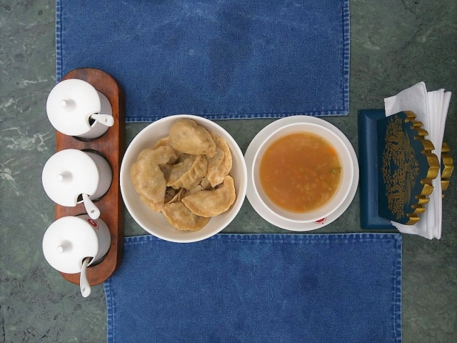 My favourite mutton momos are at the Chonor House, one of the nicest stay options in town.