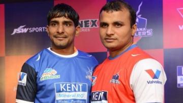 File photo of Surender Nada (L) and Wazir Singh (R).