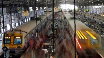 Mumbai's local trains.