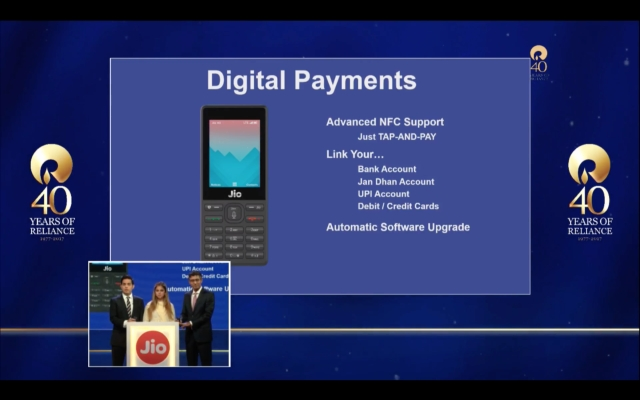 You can carry out digital payments on a feature phone now